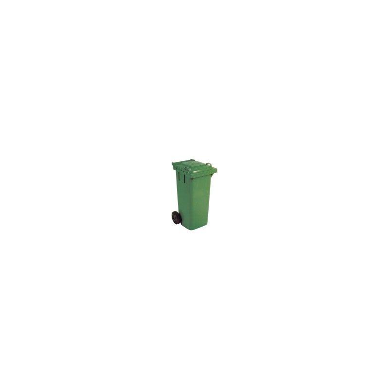 Cubo de basura de 80l contenedor de basura en polietileno - Cubos de basura industriales ...