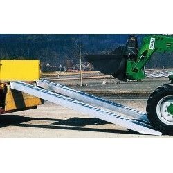 Aluminum Ramps 2900kg capacity, 4000x410mm