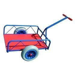 Carros manuales y eléctricos--Carro con tirador (ruedas 350 mm)