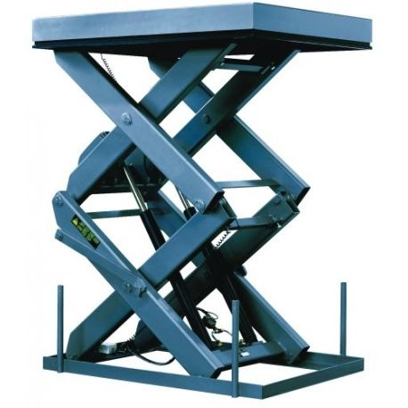 Mesas Especiales--Mesa elevadora de doble tijera