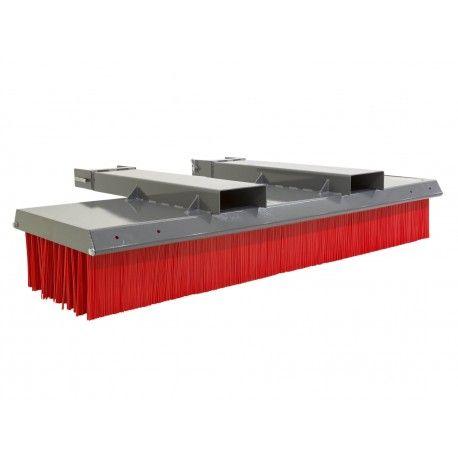 Barredoras y cepillos--Cepillo barredor para carretillas elevadoras 1800mm