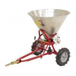 Implementos Especiales--Esparcidor de Sal Inox 180kg de capacidad