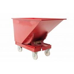 Tilting Hopper 600L (with wheels nylon)