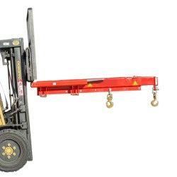 Grúas y ganchos carretilla--Grúa para Carretilla 2.000kg de capacidad, 3000mm