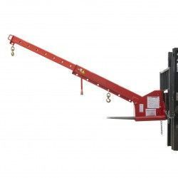 Grúa inclinable 5000kg capacidad, 3700mm de longitud