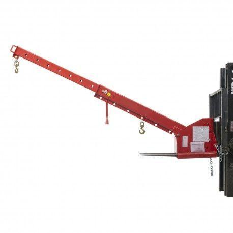 Grúas y ganchos carretilla--Grúa inclinable 5000kg capacidad, 3700mm de longitud