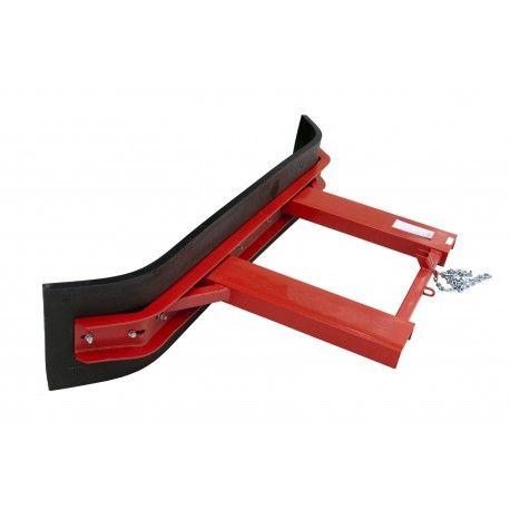 Barredoras y cepillos--Recogedor con soporte de goma 1995mm de ancho