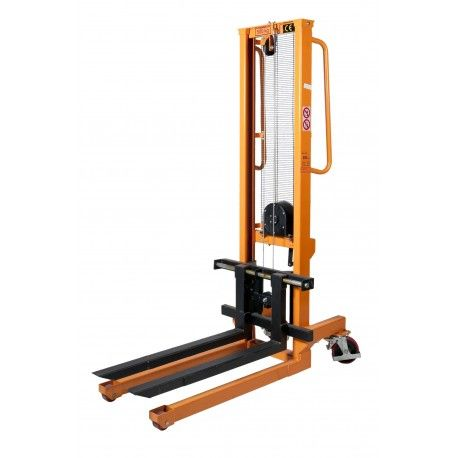 Apilador manual 500 kg a 1560 mm