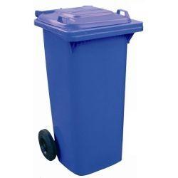 Bidones de plástico y chapa--Cubos de basura