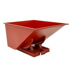 Roll-forward skip, steel, 600L