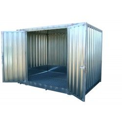 Galvanized Shed 3.005 x 2.170