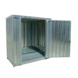 Galvanized Shed 2.100 x 1.140