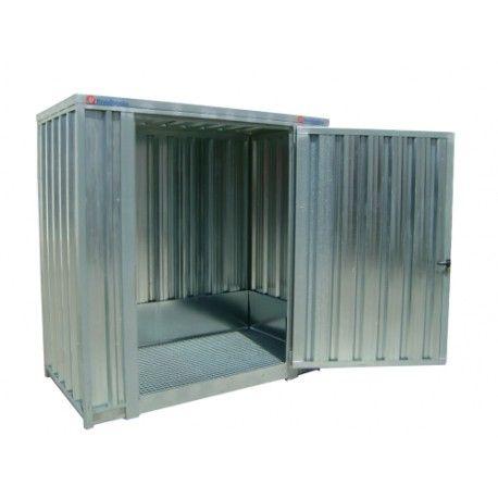 Armarios--Caseta galvanizada 2.100 x 1.140