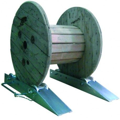 Protecciones industriales--Pareja de patines para bobinas