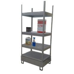 Galvanized Rack 900 x 600 x 2.100