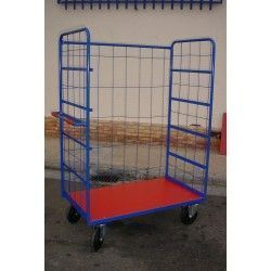 Supermercados y almacenes--Cestón sin baldas 800kg de capacidad