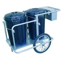 2-Bucket Sweeper Cart