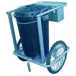 Sweeper Cart 1 Bucket