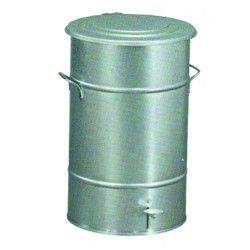 Galvanized Pedal Bucket 70L