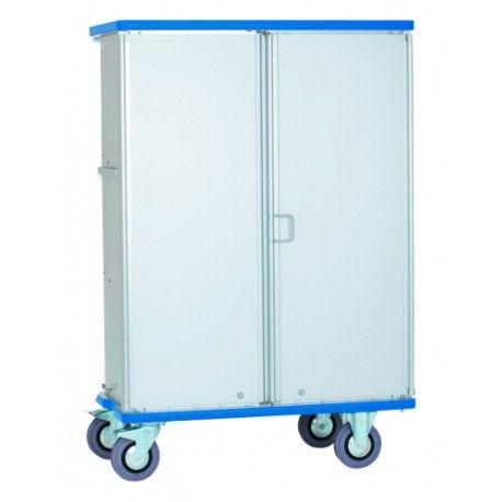 Carros manuales y eléctricos--Carro armario aluminio anodizado 300kg