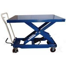 Table 1000kg à 1225mm (poignée amovible)