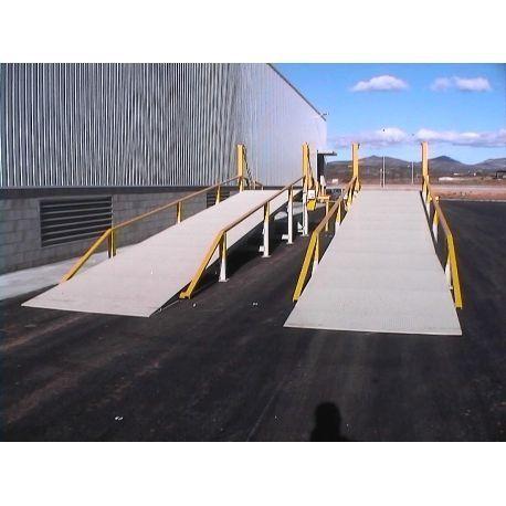 Rampas de carga--Rampa de carga Tramex 12m