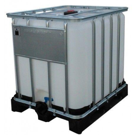 Bidones de plástico y chapa--Contenedor para líquidos 1000L
