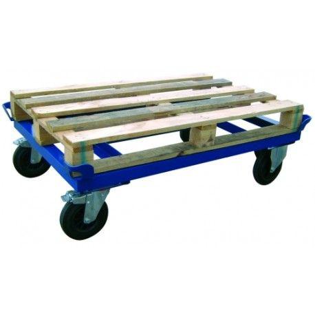 Plataformas Rodantes--Soporte para palets con ruedas hasta 600kg