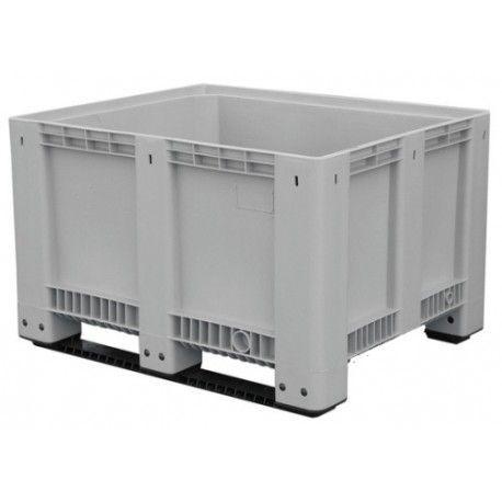 Contenedores y cestones--Contenedor para baterías con patín 610L