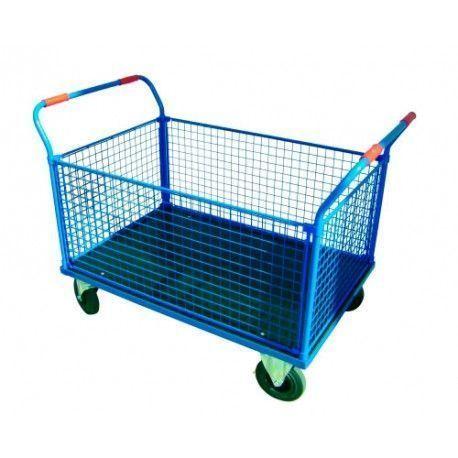 Supermercados y almacenes--Plataforma de malla 1200x800 hasta 500Kg