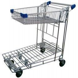 Carrito autoservicio con cesta