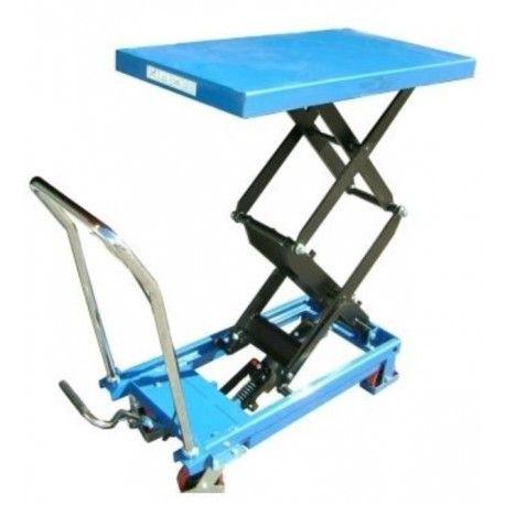 Mesas Manuales--Mesa Elevadora Manual 350kg a 1300mm