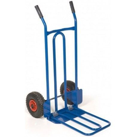 Carro manual 250kg de capacidad, pala de 515x340mm