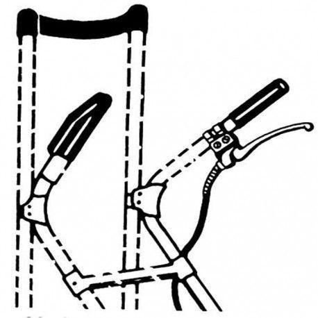 Freno de mano para carretilla