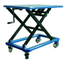 Manual lifting table 300kg (crank)