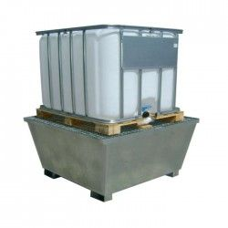 Cubeta galvanizada 1000L