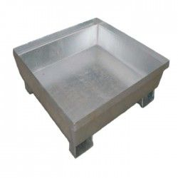 Galvanized Tray without Grating