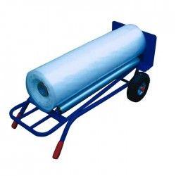 Carro portabobinas de fleje de 250 kg con dispensador
