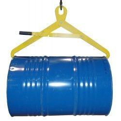 Para cargar bombonas y bidones--Pinza bidones horizontal y vertical