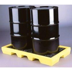 Cubetas de polietileno & metálicas --Colectora polietileno 2 bidones alto 150