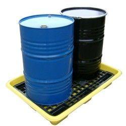 Cubetas de polietileno & metálicas --Paleta retención polietileno 150L