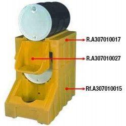 Cubetas de polietileno & metálicas --Portabidones Colector