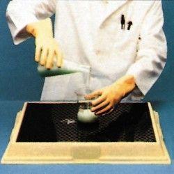 Cubetas de polietileno & metálicas --Base frascos