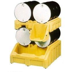Cubetas de polietileno & metálicas --Portabidones