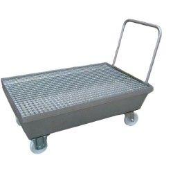 Cubetas de polietileno & metálicas --Cubeta con ruedas