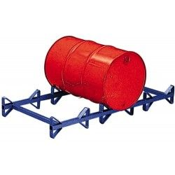 Pallet for 3 Drums of 50 Liters.
