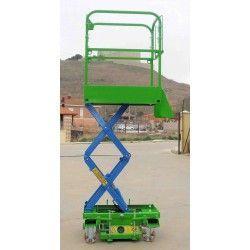 Plataformas--Plataforma Elevadora de Tijera 2,5m-160kg