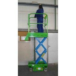 Plataformas--Plataforma Elevadora de Tijera 6,4m-160kg