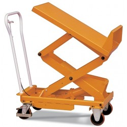Mesa elevadora manual inclinable 400 Kg