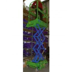 Plataformas--Plataforma Elevadora de Tijera 1,7m-160kg